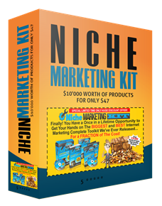 Niche Marketing Kit $10'000 worth of products for $47